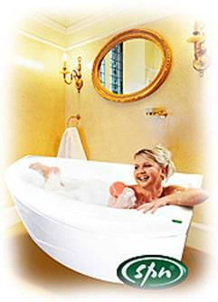 внешний вид ванны