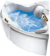 Вид гидромассажной ванны 1